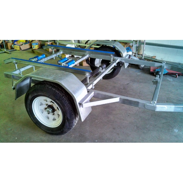 Boat Trailer OFF ROAD HEAVY DUTY CHASSIS, 100X50X4MM DRAW BAR