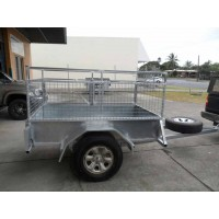 TRAILER CAGE 6X4, 7X4, 8X5 ETC, (Trailer and Cage $2800)