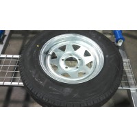 FORD GALV RIM & TYRE 185 L/T