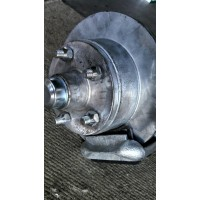 TRAILER AXLE 45 ROUND OR SQUARE 1500KG RATING